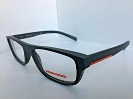 New PRADA SPORT VPS 06G TFZ-1O1 Rx 52mm Gray Eyeglasses Frame Italy - $149.99