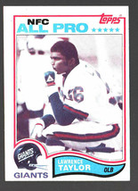 1982 Topps Football #434 Lawrence Taylor RC HOF Giants Ex/Mt *Dw80808 - $17.40