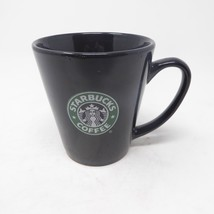 2008 Starbucks Barista Coffee Tea Mug Cup Black Green Mermaid Logo 10 oz - $9.90