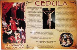 CEDULA DE San Ignacio de Loyola image 1
