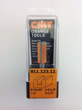 "CMT 811.123.11 Straight Router Bit, 1/4"" Shank, 31/64"" Diameter,  Made in Italy - $15.96"