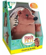 New Creativity for Kids Sequin Pets Stuffed Animal Happy the Hedgehog Pl... - $24.75