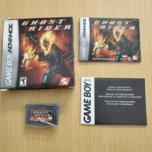 GBA GHOST RIDER Ghost Raider Game Boy Advance Action Game Nintendo Teste... - $97.44