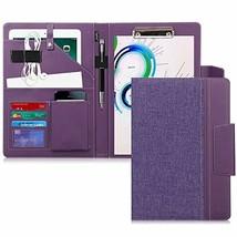 Toplive Portfolio Case Padfolio, Executive Business Document Organizer w... - $23.77