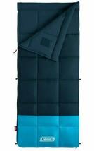 Coleman Kompact Sleeping Bag 20D Rectangular Camping Hunting SPACE BLUE- - $90.00