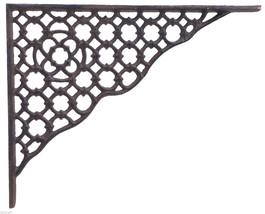 Decorative Shelf Bracket Ornate Lattice Cast Iron Brace Corbel - $18.30