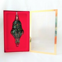 Lenox Color Gems Emerald Lite Teardrop Christmas Ornament; 6065163 - $29.02