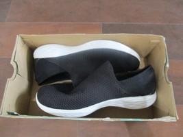 BNIB Skechers YOU Black Women's Athletic Shoe, size 9, ships w/o box, blk/white - $49.49
