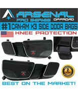 Can-Am New Full Door Storage Bags Knee Pad Maverick X3, Maverick X3 MAX - $80.14