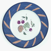 "MIKASA Fashion ""Ocean Collage"" DX102 Salad Plate 8 1/2"" - $14.99"