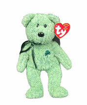 TY Beanie Baby Shamrock Plush with hang tag - $13.16