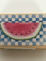 All Night Media Rubber Stamp Susan Branch Watermelon Summer Picnic Food Fruit - $7.20