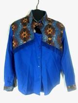 1994 Ozark Mountain Jean Co. Western Rodeo Shirt Womens Small X1 - $29.99