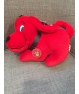 Clifford The Big Red Dog Small Plush Stuffed Animal Scholastic Side Kick... - $13.98