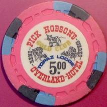 $5 Casino Chip. Overland, Reno, NV. V97. - $6.50