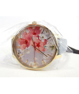 TED BAKER LONDON Women's Watch Floral Pattern Leather Band TE50377003 - ... - $135.00