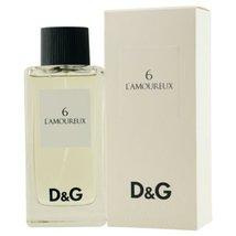 D & G 6 L'amoureux By Dolce & Gabbana Edt Spray 3.3 Oz D & G 6 L'amoureux By Dol - $328.88