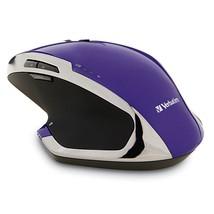 Wireless Gaming Mouse, Purple 8-button Portable Led Usb Ergonomic Wirele... - $30.99