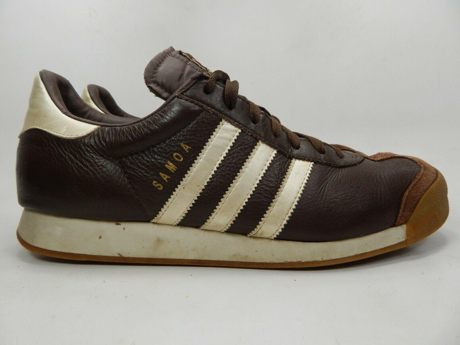 Adidas Samoa Größe US 12 M (D) Eu 46 2/3 Herren Freizeit Turnschuhe Braune