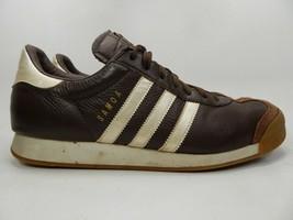 Adidas Samoa Größe US 12 M (D) Eu 46 2/3 Herren Freizeit Turnschuhe Braune - $25.42