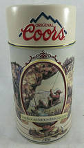 Vintage COORS 1994 The Rocky Mountain Legend BEER MUG Stein Rock Climbin... - $35.00