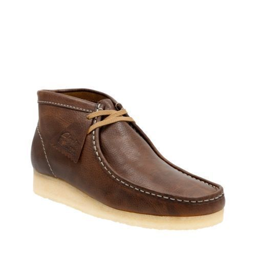 Primary image for Clarks Originals Wallabee Boot Men's Bronze/Brown Leather Casual Shoes 26116262