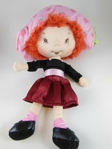 Strawberry Shortcake Doll With Satin & Velvet Dress BanDai 11 inches tall 2003 - $11.08