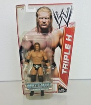 WWE Triple H Superstar #22 Wrestle Mania Heritage Series Action Figure - $17.81