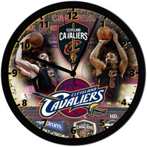 """Cleveland Cavaliers Homemade 8"""" NBA Wall Clock w/ Battery Included - $23.97"""