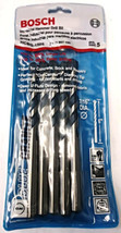 "Bosch HCBG-1505 7/16"" x 4"" x 6"" Blue Granite Hammer Drill Bit 5 Pack Germany - $7.43"