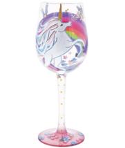 New Enesco  Unicorn Wine Glass Designed by Lolita Hand Crafted - $26.72