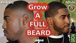 GROW Maximum XXL Beard Growth & Mustache Accelerator - #1 Formula Serum Oil Worl image 2