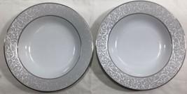 """2CT Mikasa Parchment L3438 8.5"""" Salad Bowls - $19.75"""