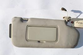 2003-2008 Infiniti FX35 Passenger Side Tan Cloth Sun Visor K691 - $88.19