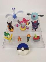 LOT Pokemon Figures and Toys Hoopa Lugia Charma... - $18.76