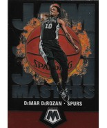 DeMar DeRozan Mosaic 19-20 #9 Jam Masters San Antonio Spurs Toronto Raptors - $1.25