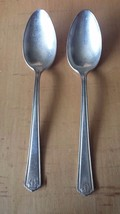 WM. Rogers X12 Teaspoons Set of 2 Homestead 1922 - $13.85