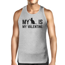 My Cat My Valentine Mens Tank Top Valentine's Gifts For Cat Owners - $14.99+