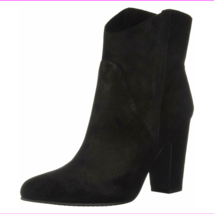 Vince Camuto Creestal Suede Ankle Boots Black Size 11 M - $45.09