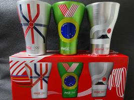 Coca Cola Original Olympic Sponsorship Commemoration Aluminum Tumbler JAPAN - $51.90