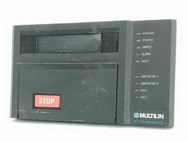 Ge Multilin MM2 Motor Manager Controller MM2 D200 1265-0001-C1 1226-0001-D4 - $500.00