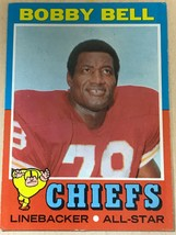 1971 Topps  #35 Bobby Bell Football Card - $2.23