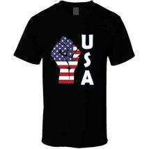 Fight Power Usa T Shirt image 6