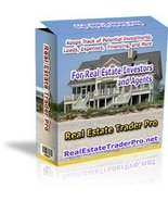 Real Estate Trader Pro For Agents and Investors [CD-ROM] Windows - $19.97