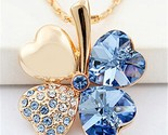 S pendant heart crystal from swarovski elements gold color vintage fashion jewelry thumb155 crop