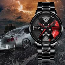 Waterproof Men's Car Wheel Sport Watch - $110.00