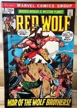 RED WOLF #3 (1972) Marvel Comics VG+ - $9.89