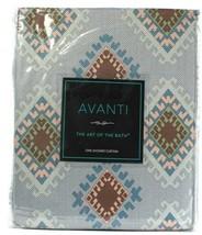 "1 Count Avanti Sante Fe 72"" X 72"" Multicolored 100% Polyester Shower Cur... - $25.99"