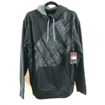 Nike Mens Hoodie Therma-Fit KO Pullover Logo Pockets Black Size L - $48.37