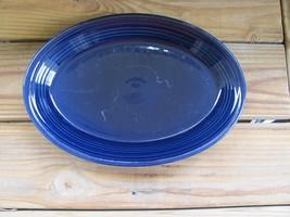 """Fiestaware~Cobalt~13½"""" Serving Platter~Oblong - $16.44"""